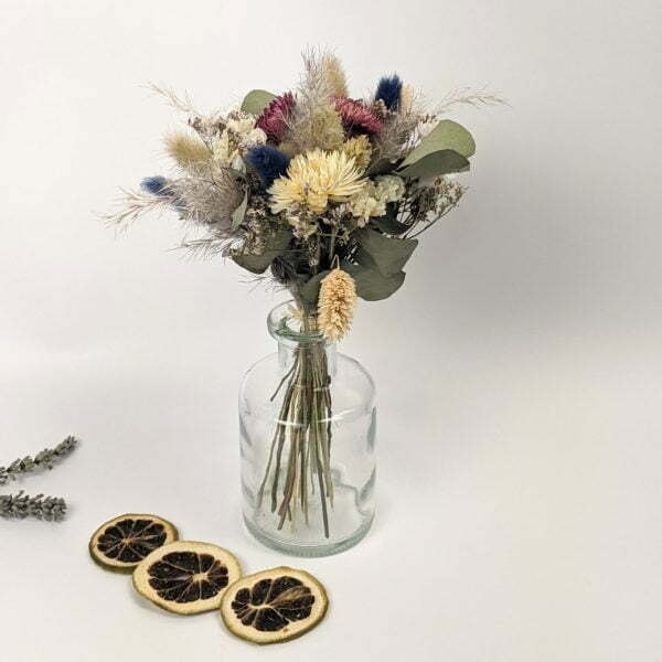 Trio de mini bouquets de fleurs séchées, Gallia 4