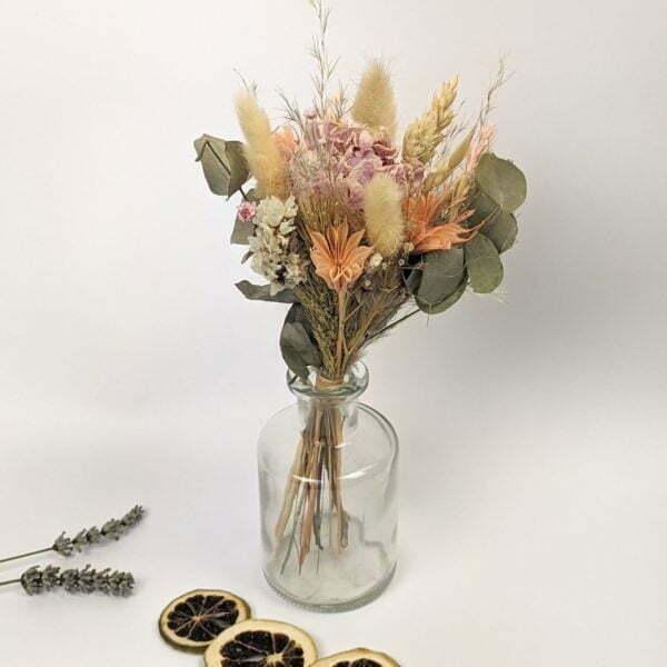 Trio de mini bouquets de fleurs séchées, Gallia 3