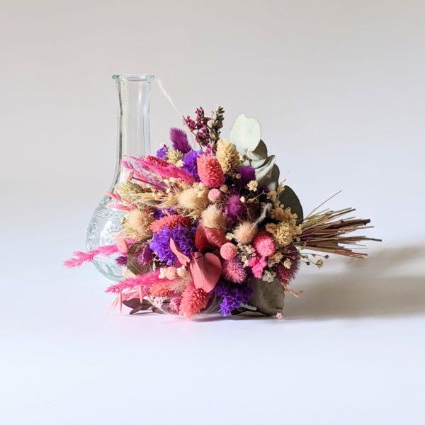 Petit bouquet de fleurs séchées et fleurs stabilisées, Anastasia 2