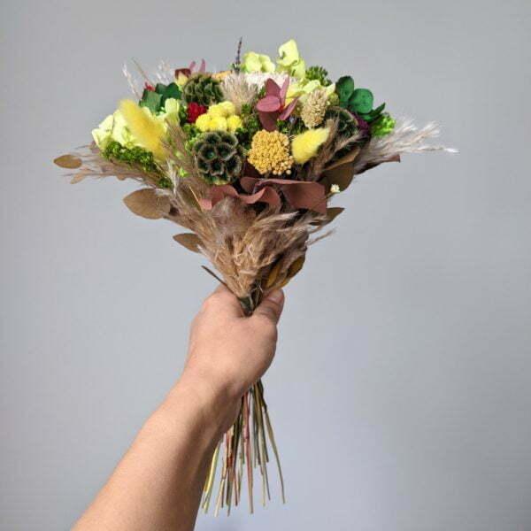 Bouquet de fleurs séchées & fleurs stabilisées, Mila 3
