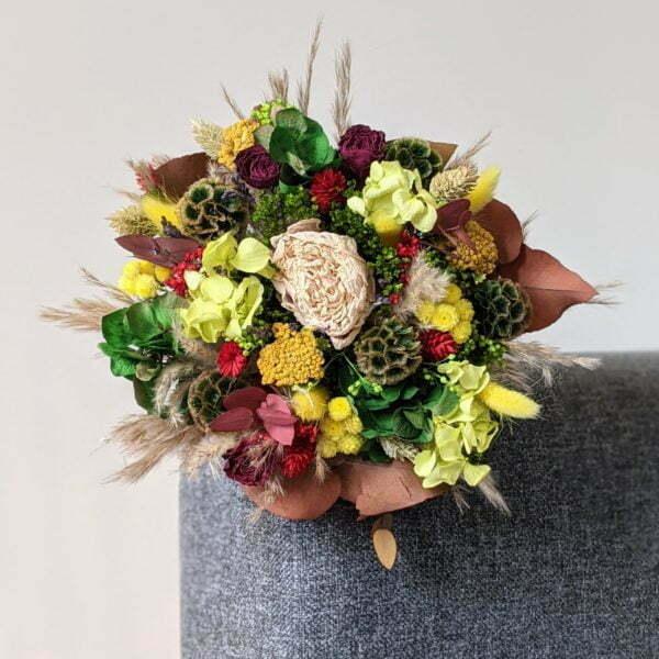 Bouquet de fleurs séchées & fleurs stabilisées, Mila 2