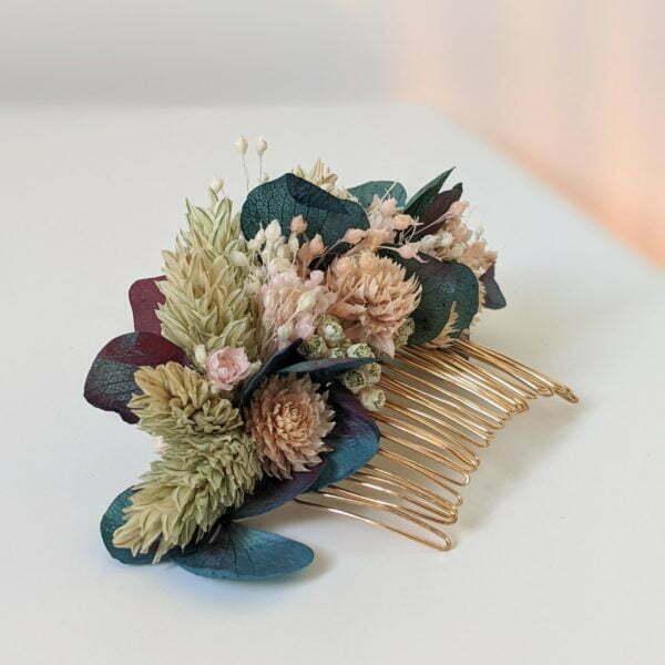 Peigne de fleurs séchées & fleurs stabilisées, Mona 2