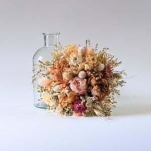 Bouquet de fleurs séchées naturelles pour décoration d'intérieur, Adélie