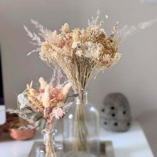 Bouquets de fleurs séchées naturelles pour décoration d'intérieur, Adélie 4