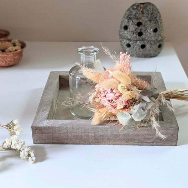 Bouquets de fleurs séchées naturelles pour décoration d'intérieur, Adélie 2