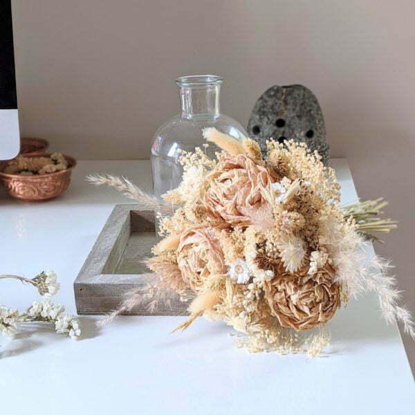 Bouquets de fleurs séchées naturelles pour décoration d'intérieur, Adélie 3